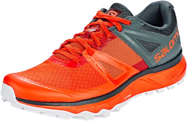 Salomon Trailster Shoes Herren cherry tomatourban chicwhite
